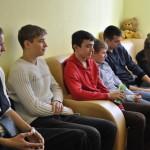 Заняття на курсах масажистів